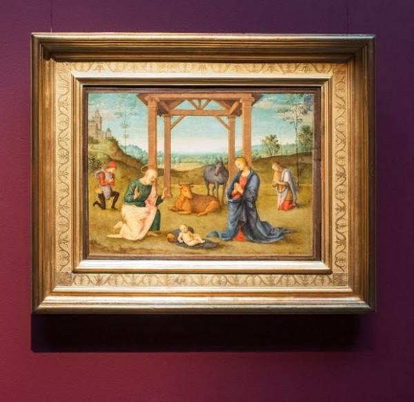 Пьетро Ваннуччи, прозванный Пьетро Перуджино, и мастерская. Рождество Христово, около 1504, дерево, масло