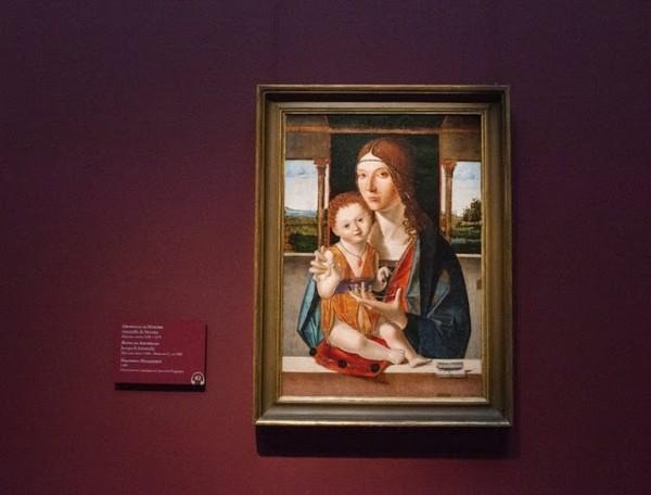 Антонелло да Мессина, Якопо ди Антонелло. Мадонна с Младенцем, 1480, дерево, масло, 1480