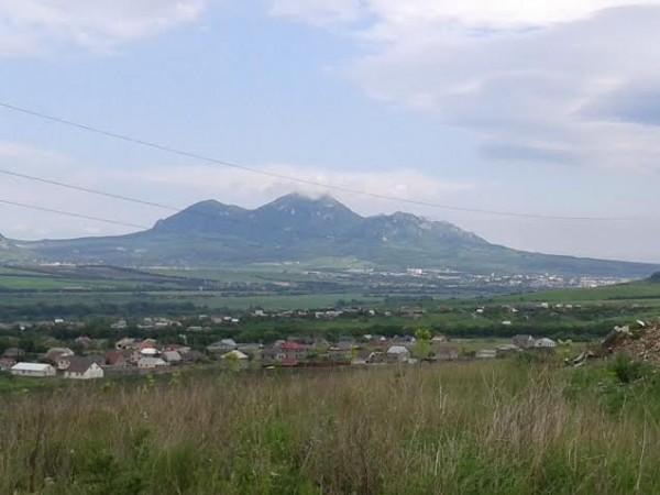 Гора Бештау (Вид со стороны города Ессентуки)
