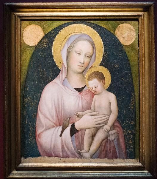 Якопо Беллини. Мадонна с Младенцем, около 1440, дерево, темпера