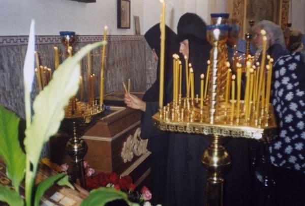 На поклонение к святой. 24 мая 2005 г.