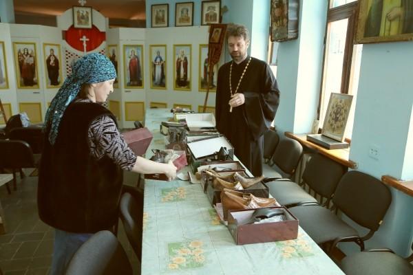 В одном из храмов Пятигорской епархии открыли комнату взаимопомощи