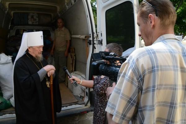 Симферопольская и Крымская епархия передала гуманитарную помощь детям-беженцам с юго-востока Украины (+ФОТО)