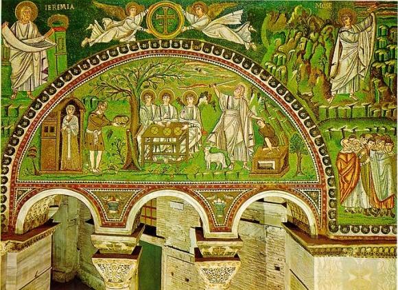 Храм Сан Витале. Равенна