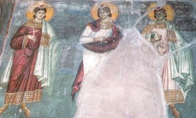 Церковь чтит память святых мучеников Мануила, Савела и Исмаила