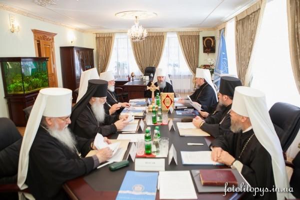 В Свято-Успенской Киево-Печерской Лавре началось заседание Священного Синода УПЦ