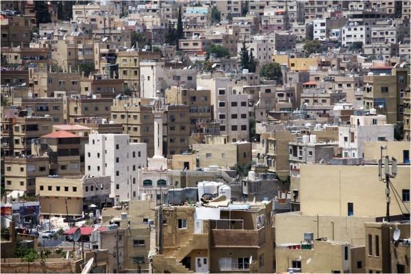 Амман. Вид на Старый город.