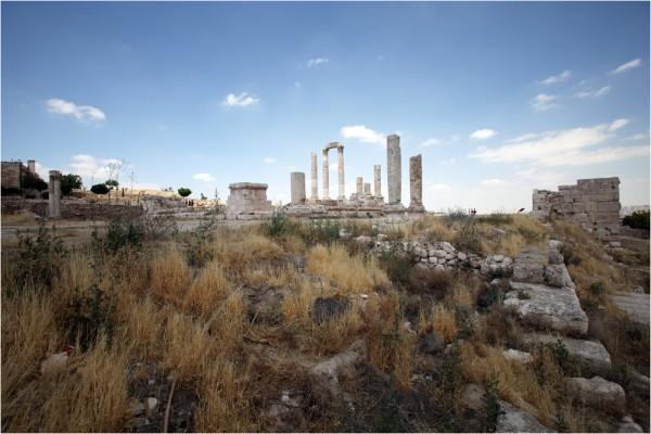 Храм Юпитера, или Великий храм Аммана был возведён при императоре Марке Аврелии (II в. н. э.)