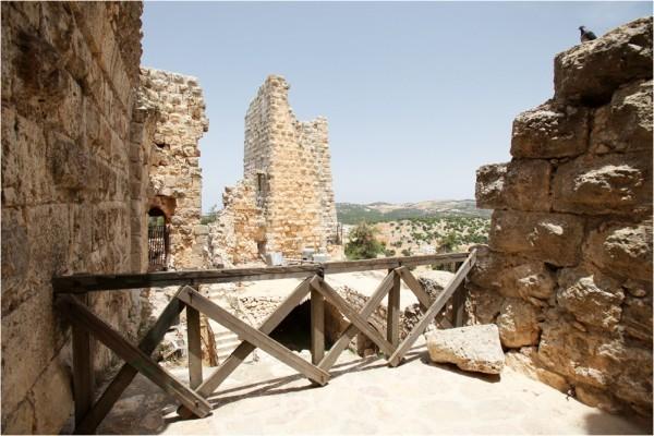 Аджлунский замок. Одна из сохранившихся башен