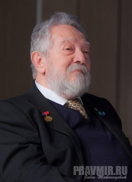 Андрею Золотову вручена патриаршая награда