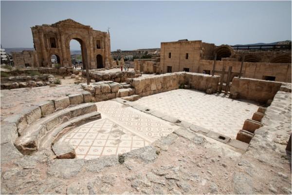 Руины христианского храма