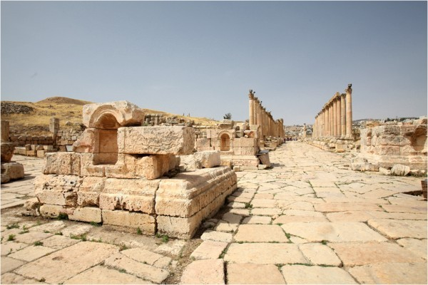 Центральная улица древней Герасы