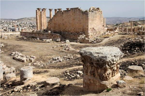 Храм Артемиды, вид с северо-запада