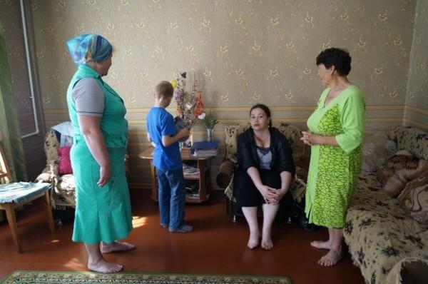 Подворье Валаамского монастыря в Приозерске собирает гуманитарную помощь беженцам из Украины