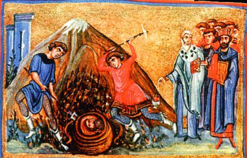 Церковь отмечает третье обретение честной главы святого Пророка, Предтечи и Крестителя Господня Иоанна