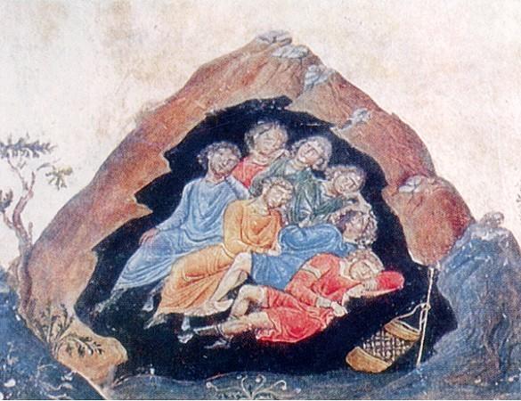 Cтрадание семи святых мучеников, в Эфесе почивших