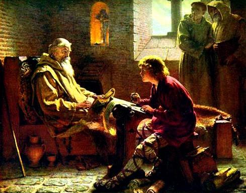 Смиренный монах и учитель