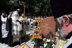 В Волгограде освятили мемориал на месте теракта