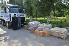 Запорожская епархия собрала 20 тысяч гривен женщинам и детям Донбасса