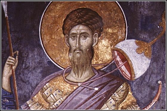 Церковь чтит память святого великомученика Феодора Стратилата