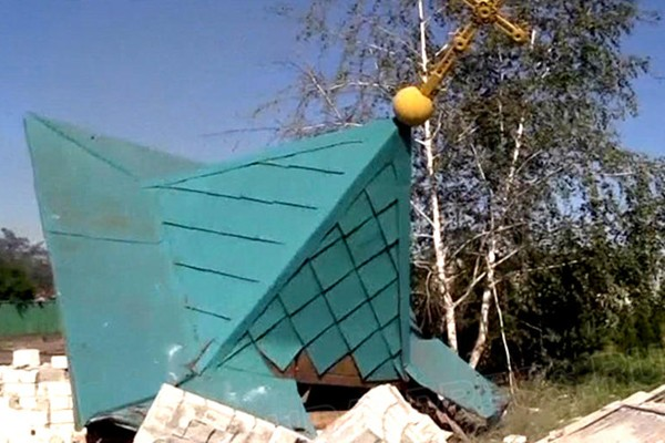 Протоиерей Николай Фоменко: Это чудо, что храмы в Славянске ещё целы!