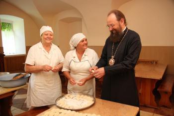 На кухне Киевской Духовной Академии