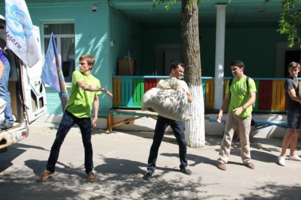Ростовская епархия продолжает оказывать помощь беженцам из Украины