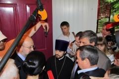 Генеральный секретарь ОБСЕ Ламберто Заньер посетил лагерь для беженцев под Ростовом-на-Дону