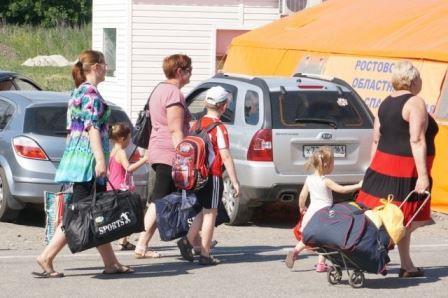 18 тысяч граждан Украины в сутки пересекает российско-украинскую границу