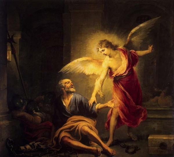 Мурильо Бартоломе Эстебан. Освобождение апостола Петра из темницы