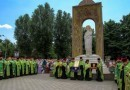Верующие Луганска молились о мире у памятного знака Божией Матери (+Фото)
