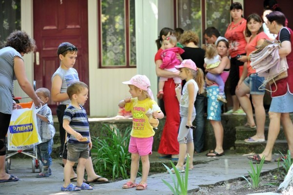 Белгородское сестричество милосердия продолжает помогать беженцам из Украины