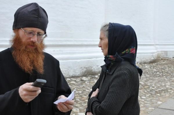 Как в монастыре беженцам помогают