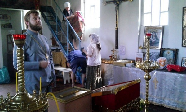 Настоятель подожженного храма в Киеве: У нас ни с кем не было конфликтов (+ВИДЕО)