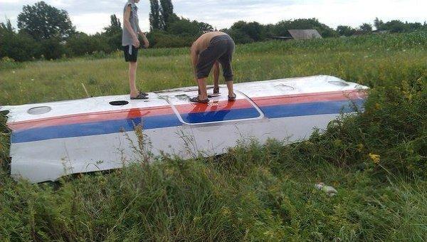 Крушение самолета под Донецком: погибло 300 человек