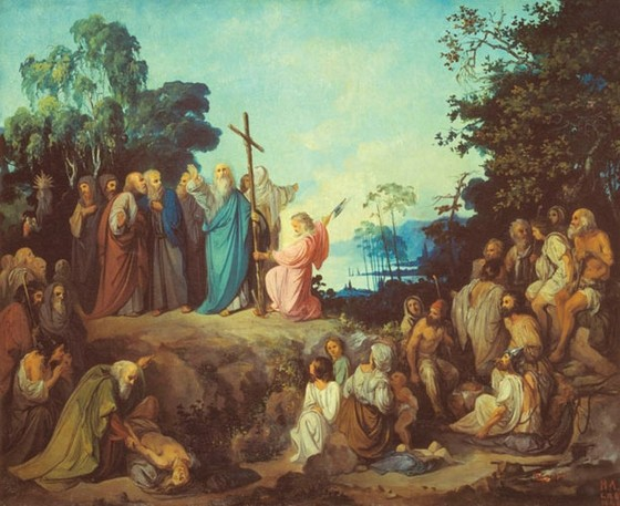 На Валааме установлен памятник апостолу Андрею