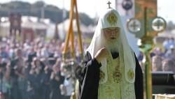 Патриарх Кирилл возглавил крестный ход из Хотьково в Сергиев Посад