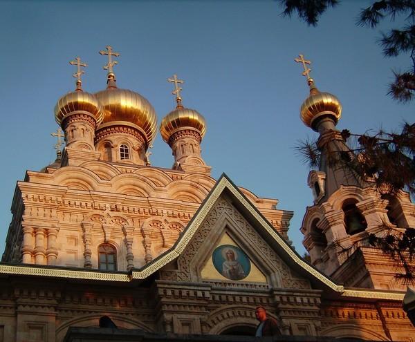 Храме святой Марии Магдалины в Гефсимании