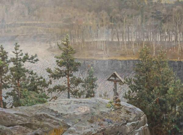 Валаам. 2001 г. Холст, масло.