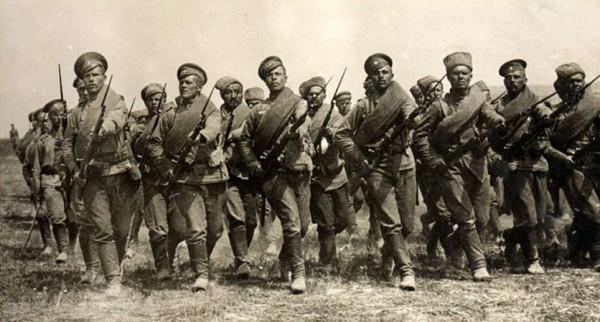 11-й гренадерский Фанагорийский генералиссимуса князя Суворова полк. Фото. 1914-1916