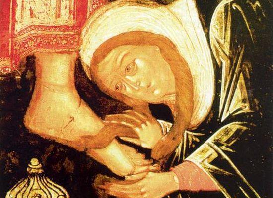 Грешница, помазавшая Христа