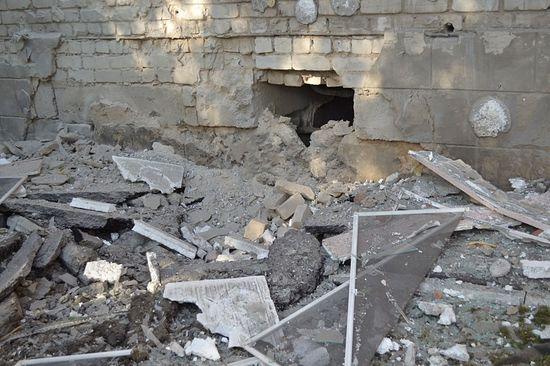 В Луганске обстреляли онкологический диспансер, на территории которого находится женский монастырь