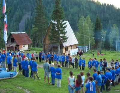 На Валдае проходит лагерь Братства православных следопытов