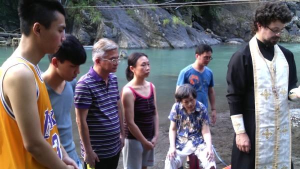 Семья коренных тайваньцев приняла православие