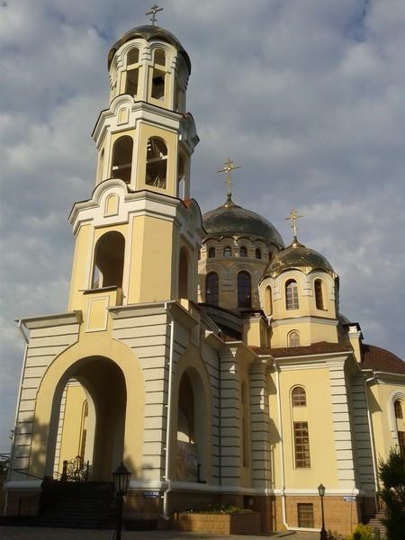 Новопостроенный Магдалининский собор. Город Нальчик