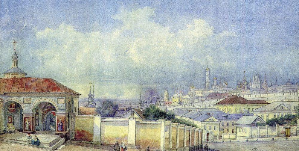Страницы истории московского Ивановского девичьего монастыря