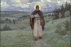 Преподобный Сергий нёс меня на руках