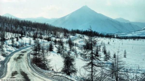 Долгий путь в п.Усть-Неру по трассе Якутск-Магадан