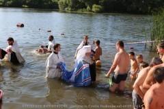Около тысячи человек крестились в Ульяновске в праздник Крещения Руси
