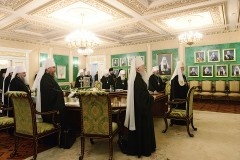 ЖУРНАЛЫ заседания Священного Синода Русской Православной Церкви от 25 июля 2014 года